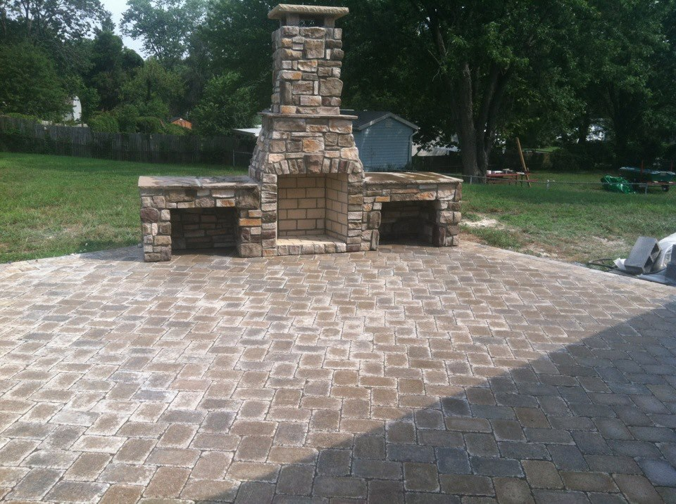 Concrete And Masonry Services Pasadena MD - Different types of patios